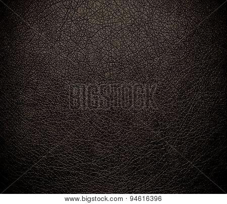 Dark lava leather texture background
