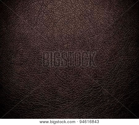 Dark liver (horses) leather texture background