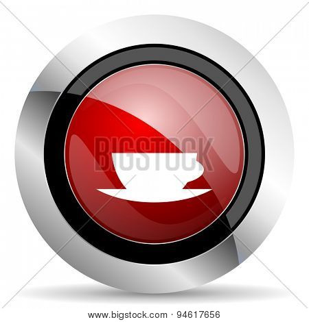 www red glossy web icon original modern design for web and mobile app on white background