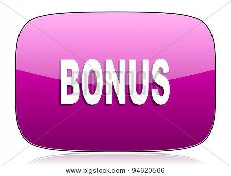 bonus violet icon