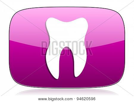 tooth violet icon