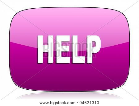 help violet icon