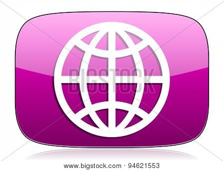 earth violet icon