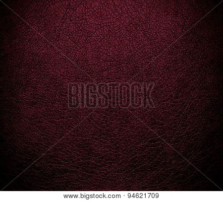 Dark scarlet leather texture background