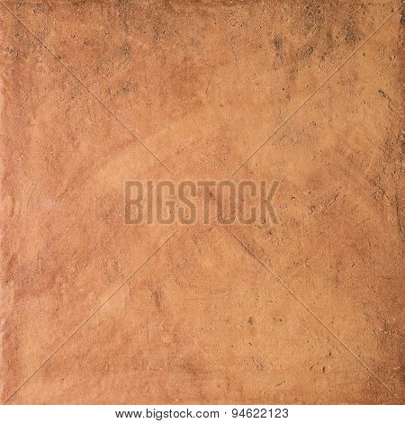 Ocher Stone Wall