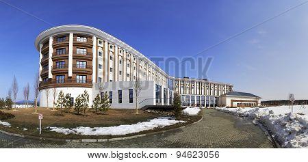 Hotel Rixos Borovoe in National Park Burabay.