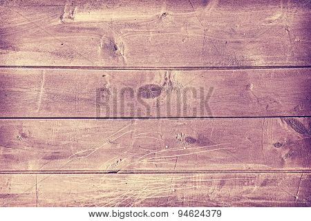 Vintage Toned Wooden Panel Background.