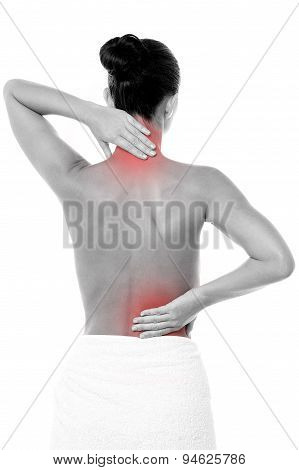 Painful Back Hurting A Lot.