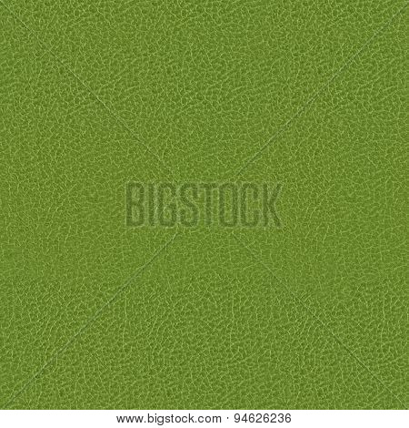 Green Leatherette Book Cover Seamless Texture Background