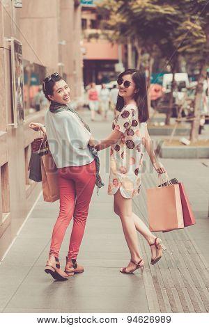Laughing Vietnamese Girls