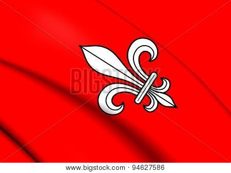 Flag Of Alterswil, Switzerland.