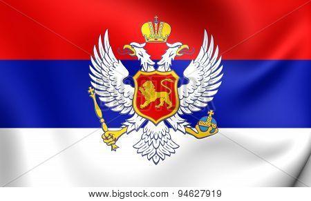 Kingdom Of Montenegro Flag (1910-1918)