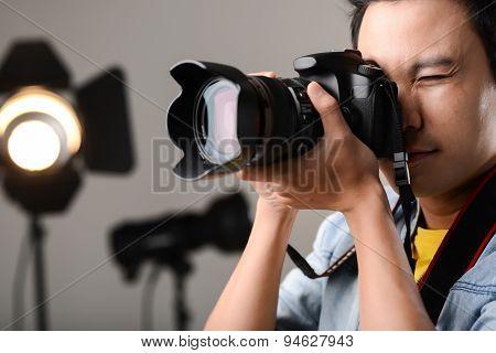 Using Professional Camera