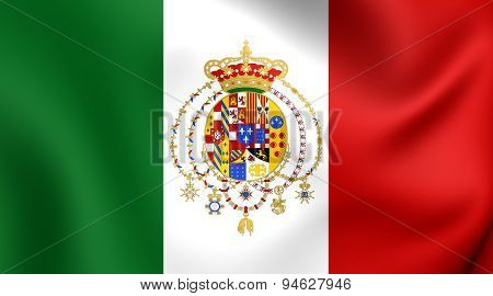 Kingdom Of The Two Sicilies Flag