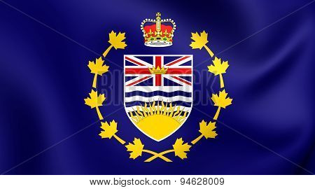 Lieutenant-governor Of British Columbia Flag