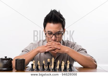 Vietnamese Chess Player