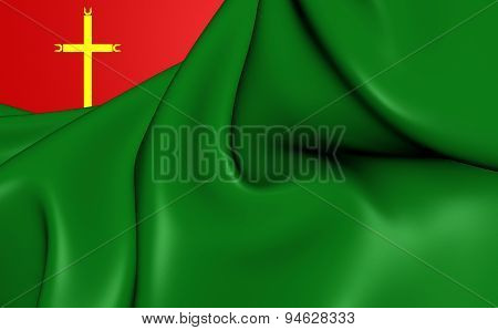 Flag Of La Santisima Trinidad, Bolivia.