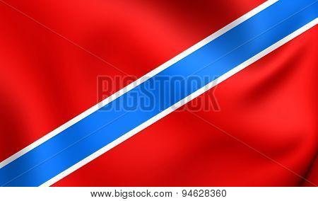 Flag Of Tuapse, Russia.