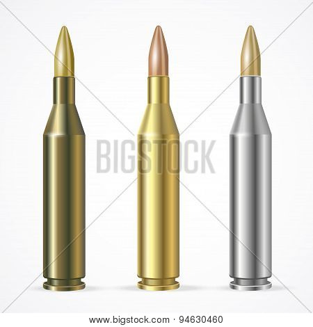 Vector Rifle Bullet Set