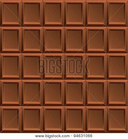 Vector Milk Chocolate Background