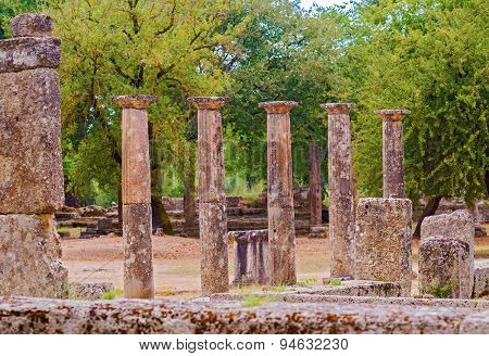 Ancient Olympia, Greece.
