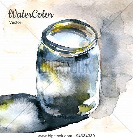 Watercolor vector