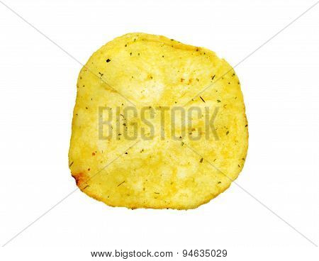 Delicious Round Potato Chips