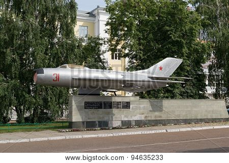 Russian Mig 15 Jet Fighter Monument