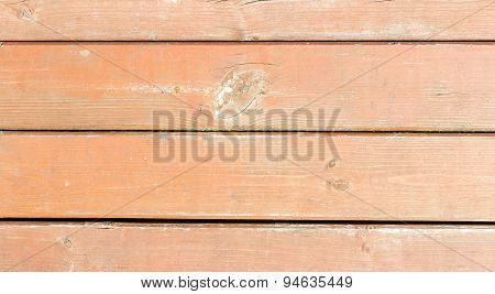 Old Painted Wood Wall - Texture Or Background