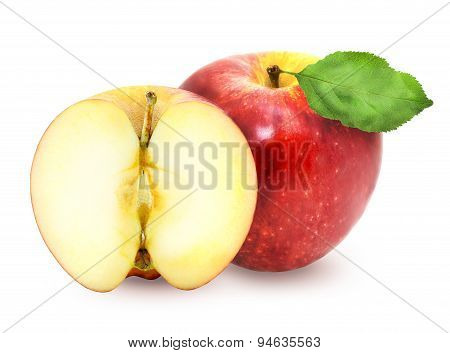 Delicious Fresh Red Apples