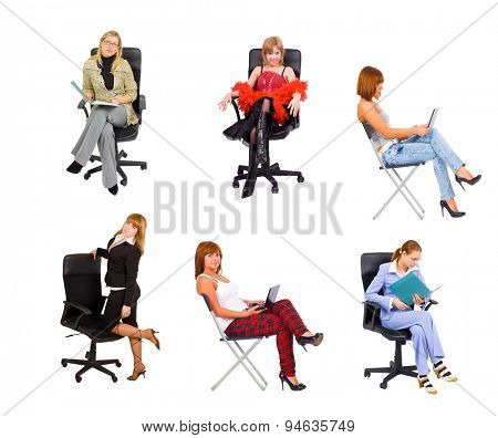Isolated Group Chairs in Line