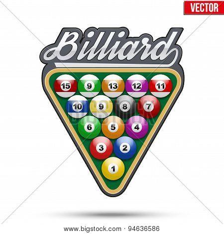 Premium symbol of Billiard Tag