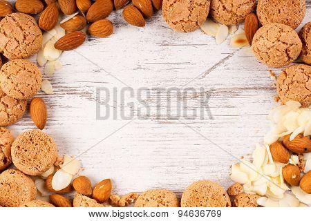 Cookies background