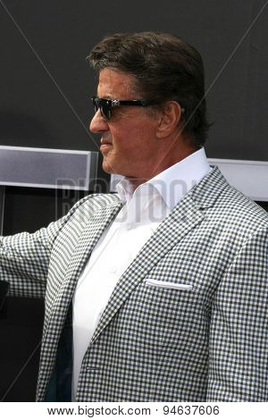 LOS ANGELES - JUN 28:  Sylvester Stallone at the