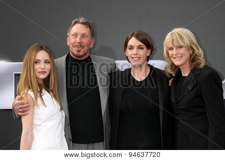 LOS ANGELES - JUN 28:  Megan Ellison (third from left), guests at the