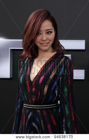 LOS ANGELES - JUN 28:  Jane Zhang at the