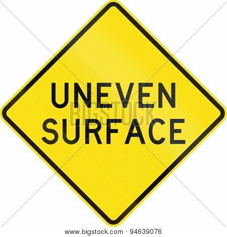 Uneven Surface In Australia
