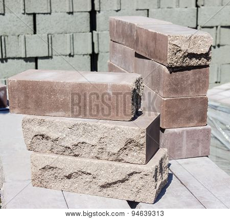 Brown Decorative Brick