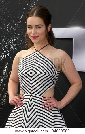 LOS ANGELES - JUN 28:  Emilia Clarke at the