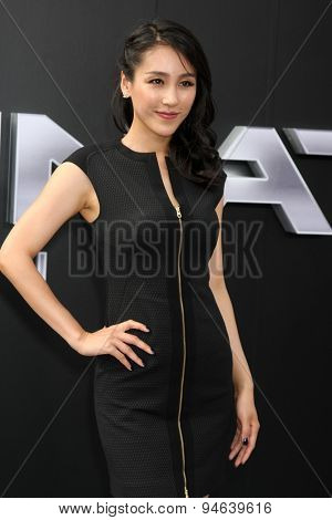 LOS ANGELES - JUN 28:  Jane Wu at the