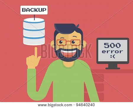 Information recovery and data backup