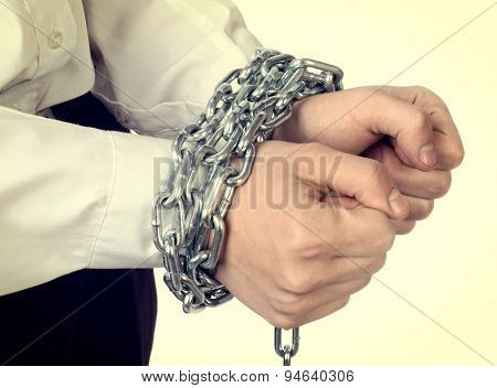 Hands Tied Chain