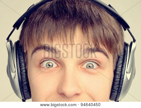 Teenager In Headphones