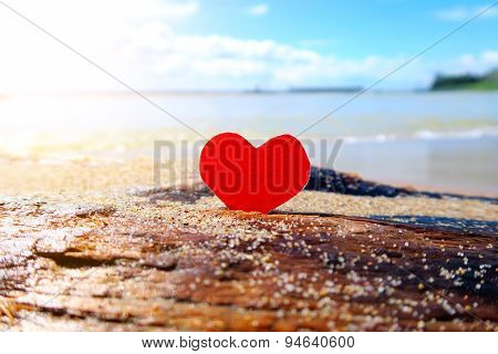 Heart On The Seashore
