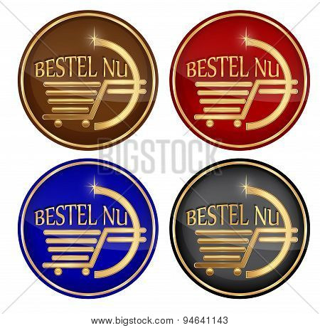 'Bestel Nu' - Add to cart: dutch icon set