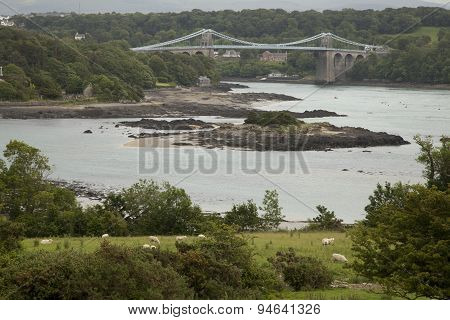 Menai Bridge and Straight