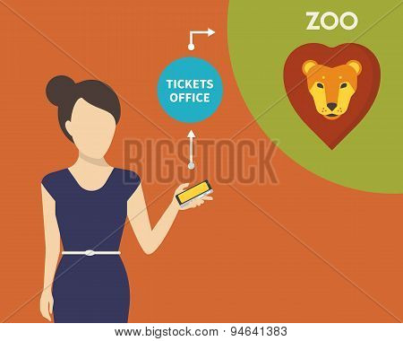 Booking tickets to zoo