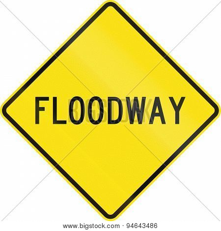 Floodway In Australia