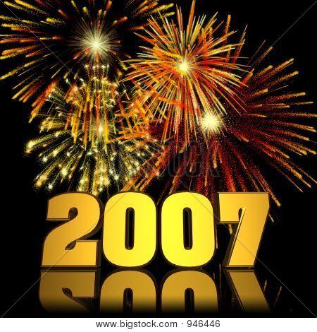2007 New Year Fireworks