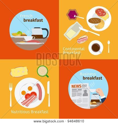 Continental and French Breakfast concepts